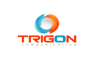 Trigon Wireless & Telecommunication Logo Design