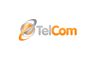 Tel Com Wireless & Telecommunication Logo Design