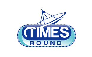 Times Round Wireless & Telecommunication Logo Design