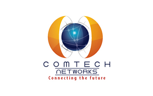 Comtech Networks Wireless & Telecommunication Logo Design